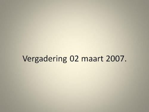 Stukken 2007(12)